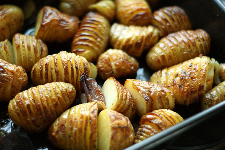 Roasted New Potatoes  new potato recipe