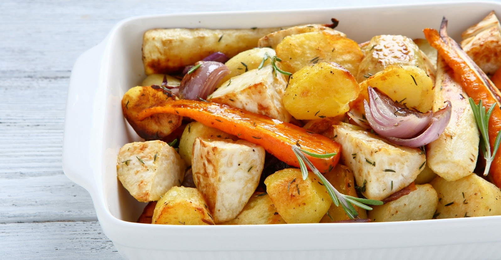 Roasted Potatoes And Carrots And Onions  Carrots & Potatoes Roasted with ion & Garlic