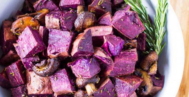 Roasted Purple Potatoes  Recipes – Just Farmed