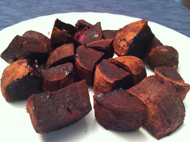 Roasted Purple Potatoes  CACAO ROASTED PURPLE SWEET POTATO