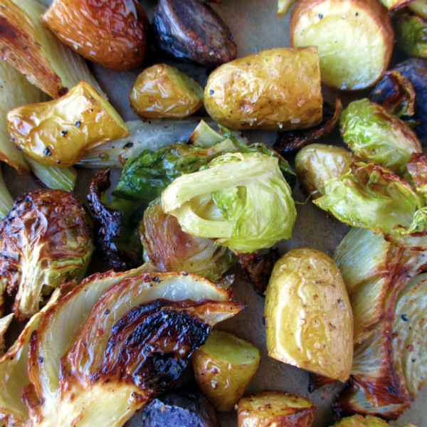 Roasted Vegetables Thanksgiving  Ina Garten's Thanksgiving Oven Roasted Ve ables