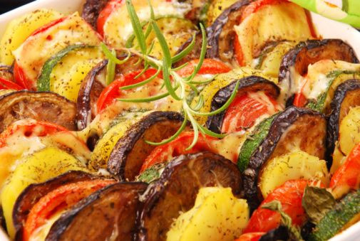 Roasted Vegetables Thanksgiving  Roasted Ve able Casserole recipe thanksgiving ideas