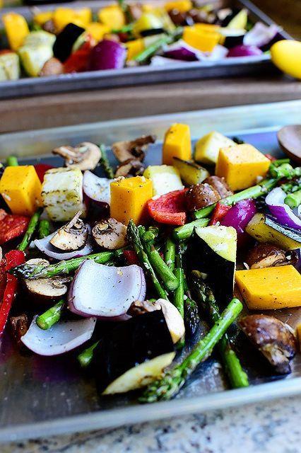 Roasted Vegetables Thanksgiving  pioneer woman roasted ve ables thanksgiving
