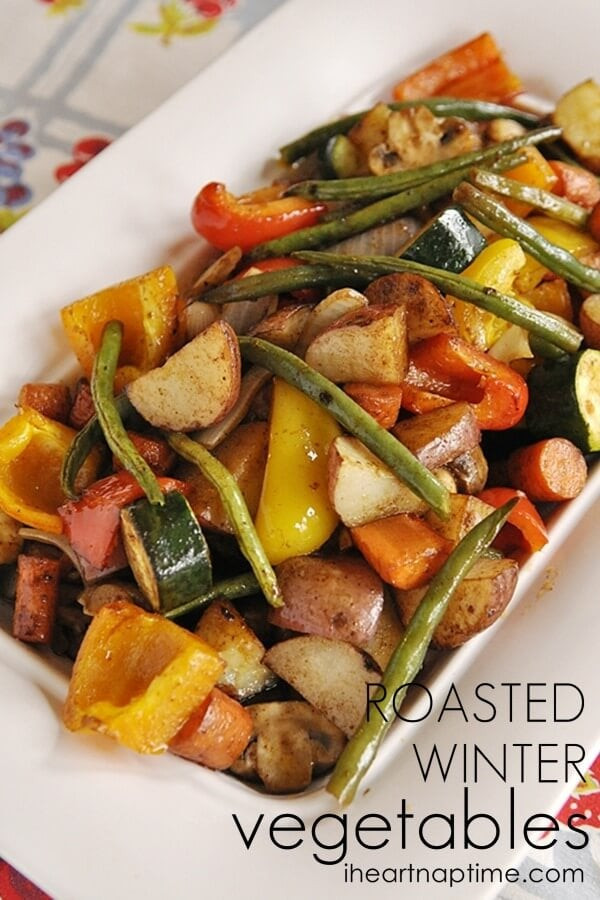 Roasted Vegetables Thanksgiving  Top 50 Thanksgiving Sides