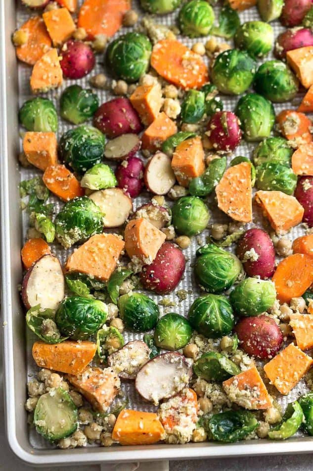 Roasted Vegetables Thanksgiving  Roasted Harvest Ve ables Video Life Made Sweeter