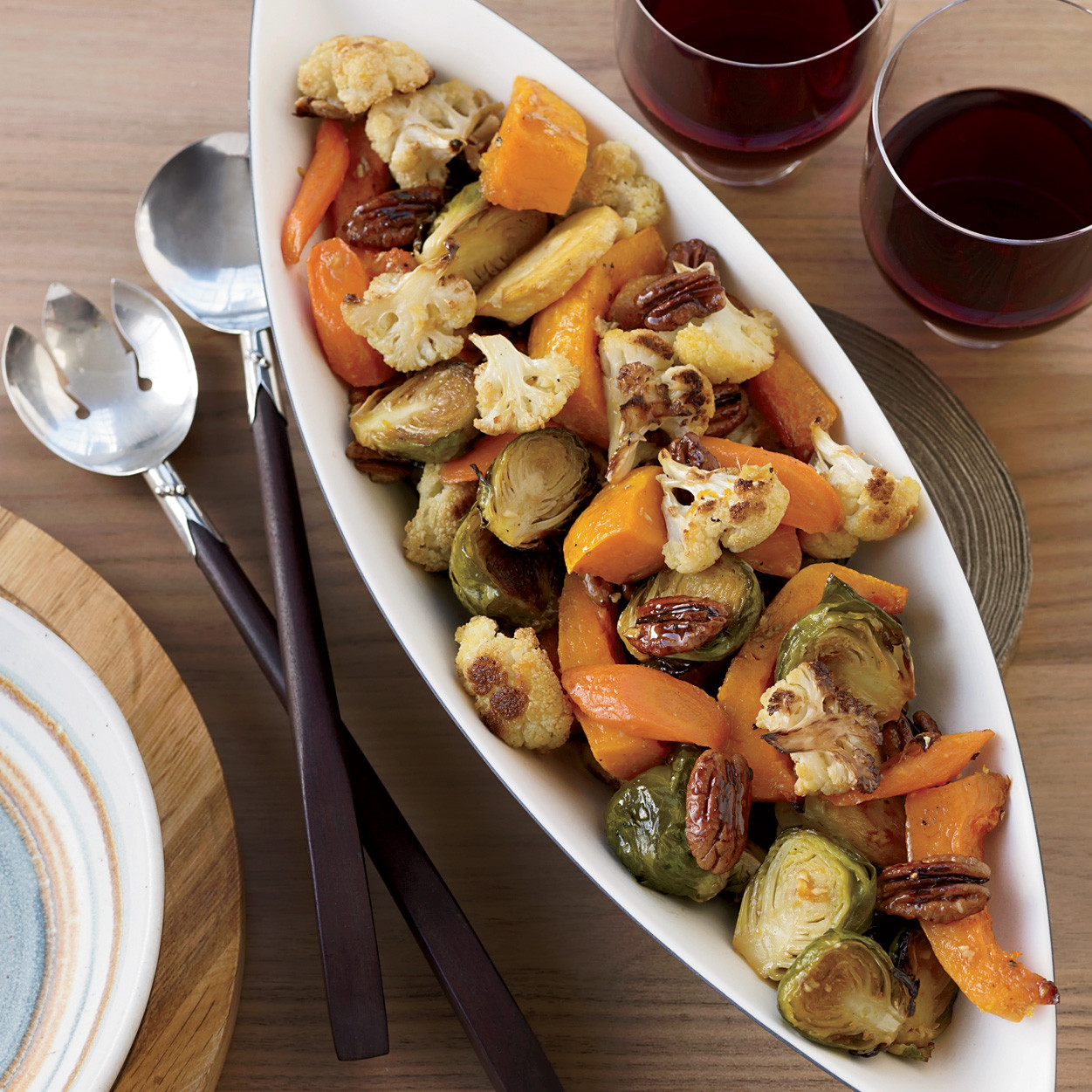 Roasted Vegetables Thanksgiving  Perfecting Thanksgiving Dinner Ve ables