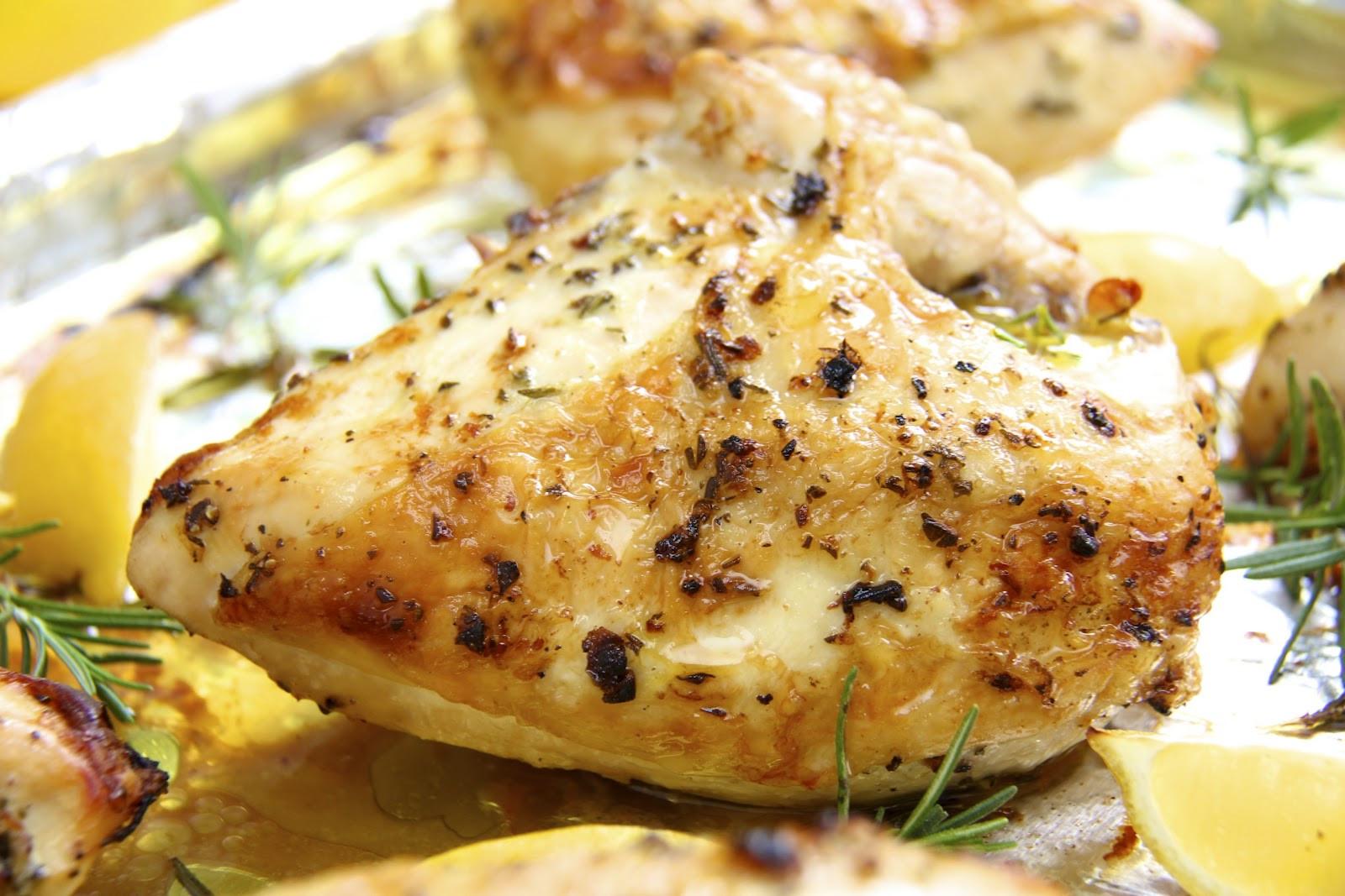 Roasting Chicken Breasts  easy baked chicken breast