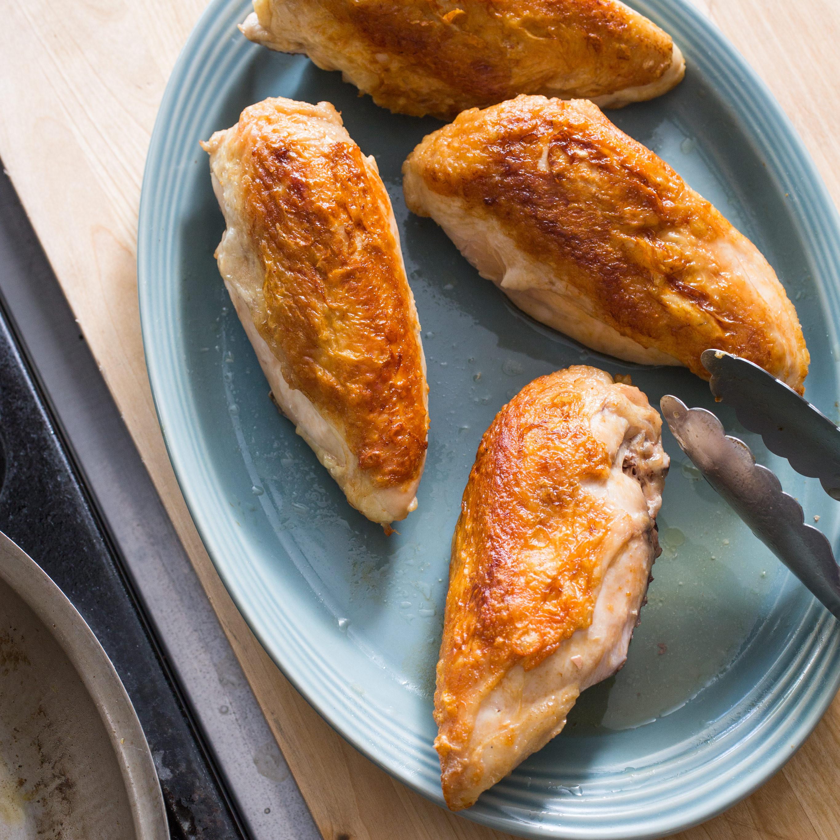Roasting Chicken Breasts  Roasted Bone In Chicken Breasts