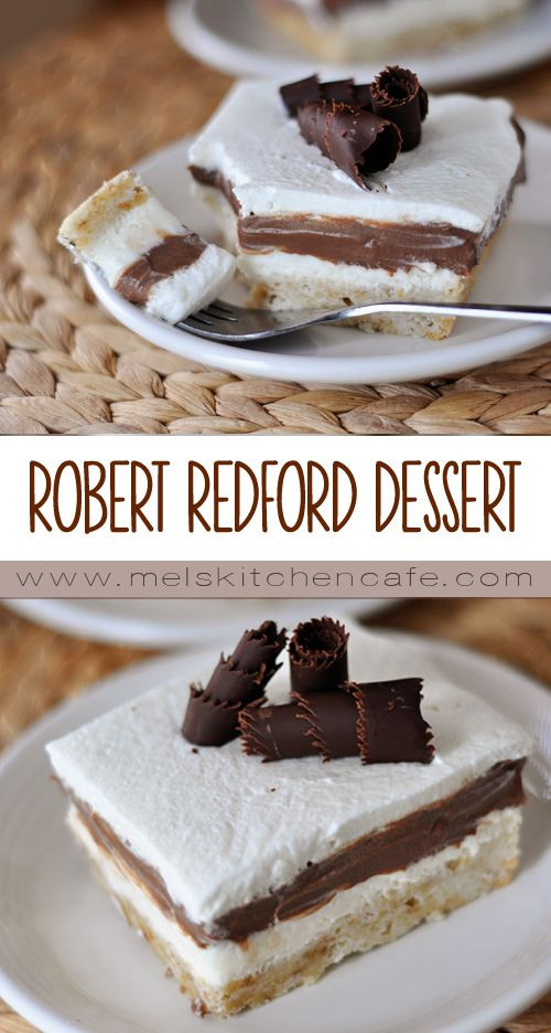 Robert Redford Dessert  Robert Redford Dessert My Way Recipe