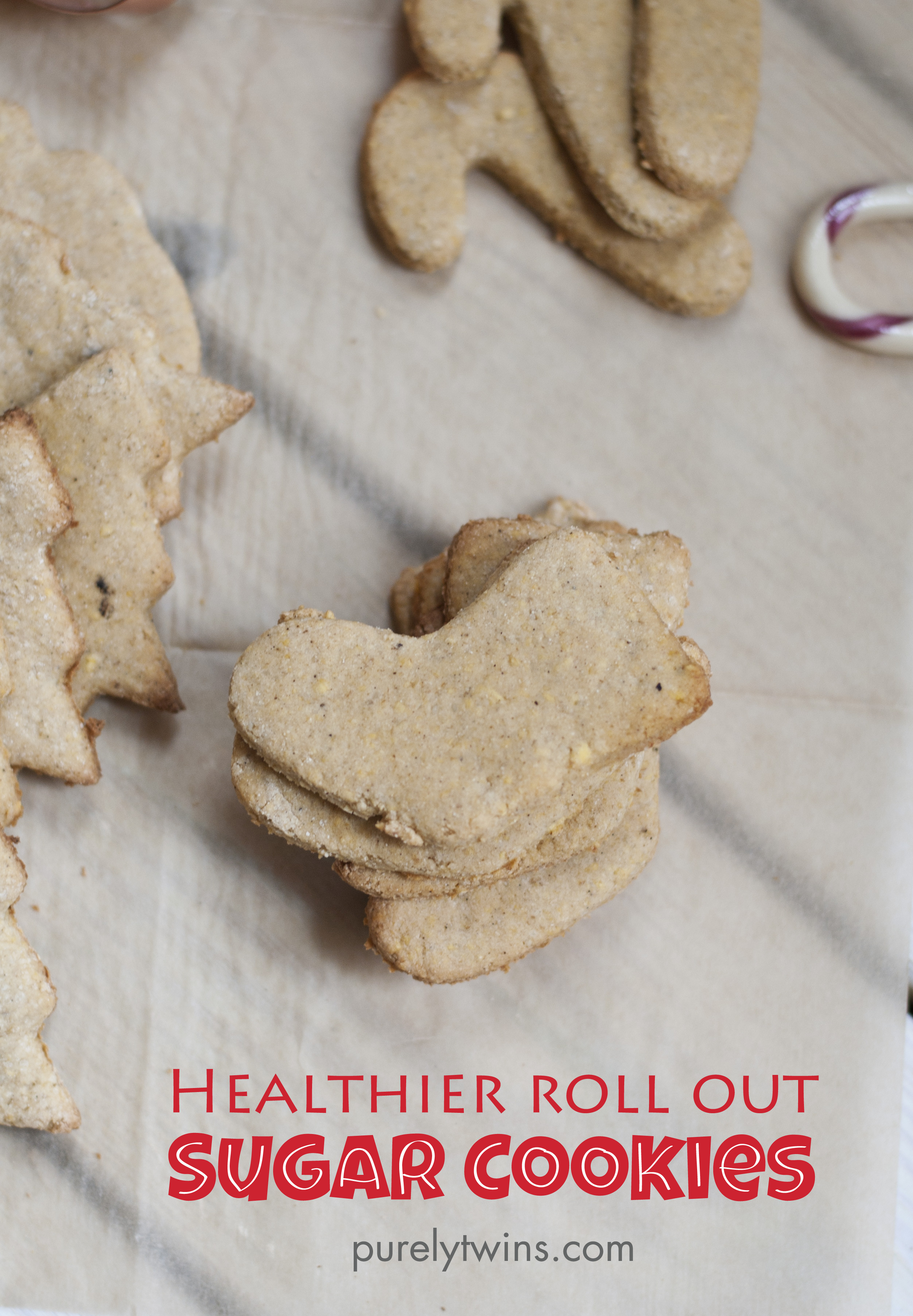 Roll Out Sugar Cookies  the best sugar cookies egg free grain free