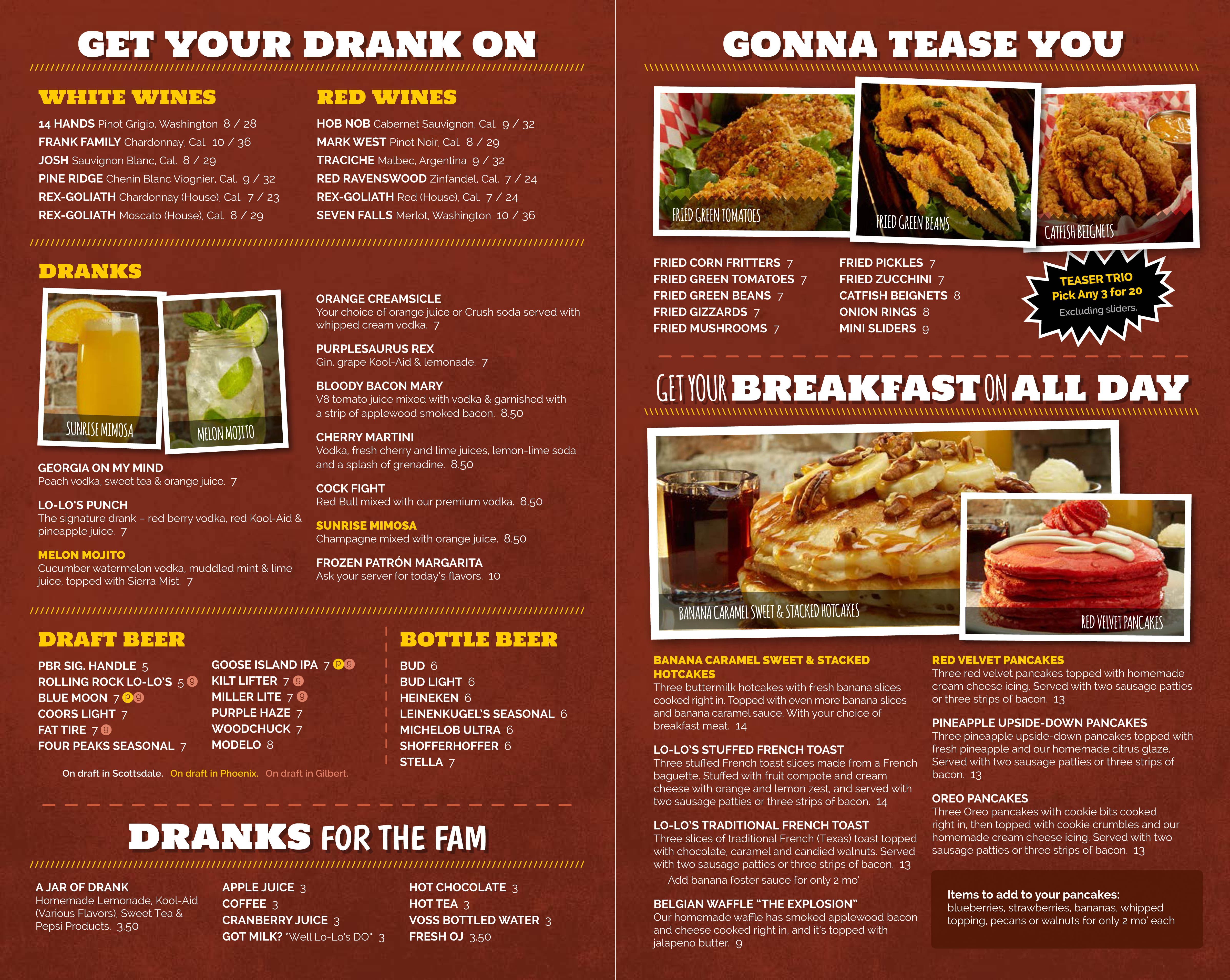 Roscoe'S Chicken And Waffles Menu  lo lo's chicken & waffles Patrick Darby graphy