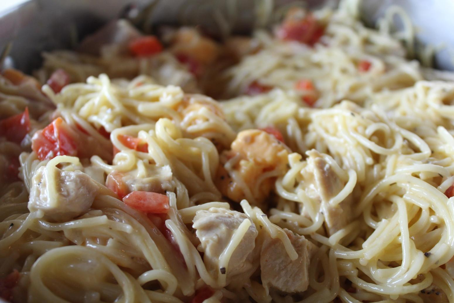 Rotel Chicken Spaghetti  Chicken Spaghetti Recipe 13