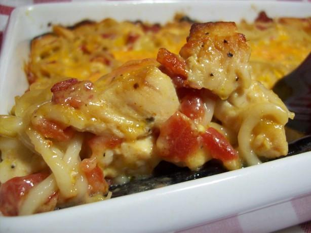 Rotel Chicken Spaghetti  Ro tel Chicken Spaghetti Recipe Food