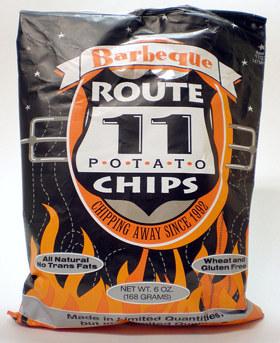 Route 11 Potato Chips  Route 11 Barbeque Potato Chips A Review