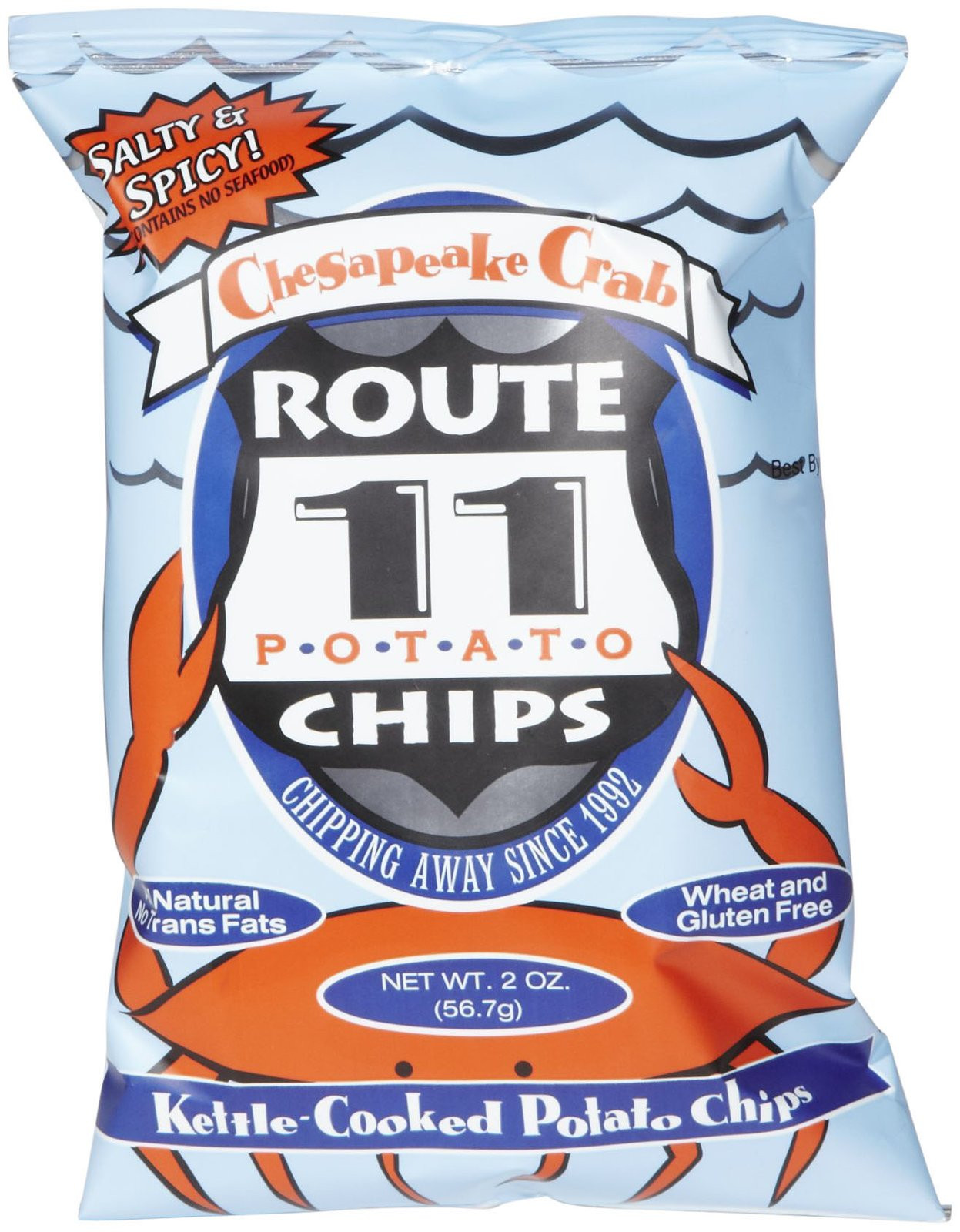 Route 11 Potato Chips  Jual Route 11 Chesapeake Crab Potato Chips Makanan Snack