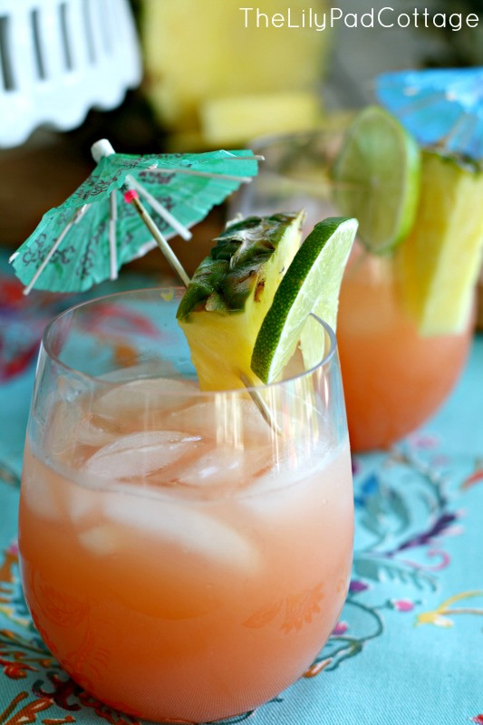 Rum Drinks Easy  Rum Punch Recipe The Lilypad Cottage