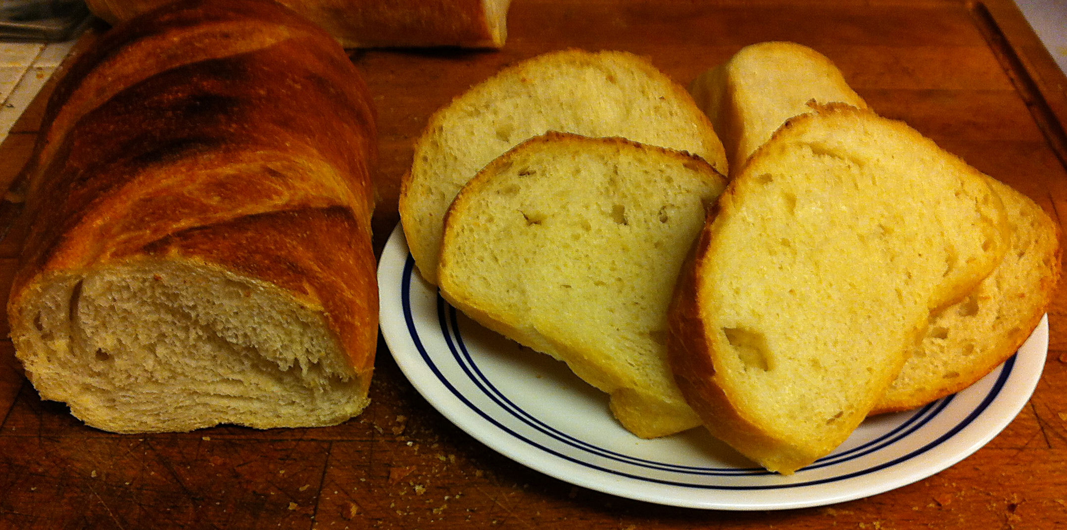 Rustic Italian Bread  Karl's Rustic Italian Bread II
