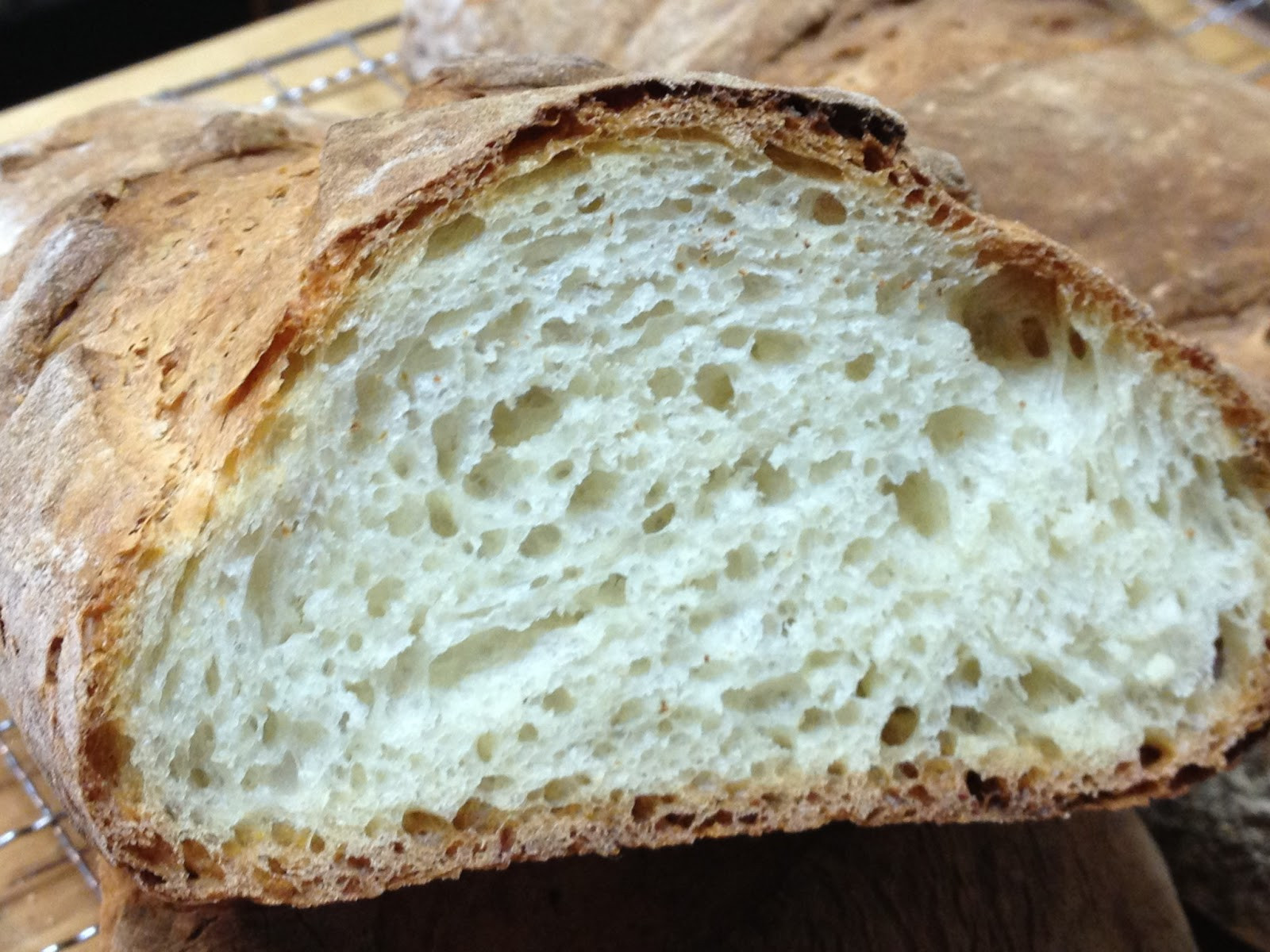 Rustic Italian Bread  Tracy Cooks in Austin Crusty Rustic Italian Bread