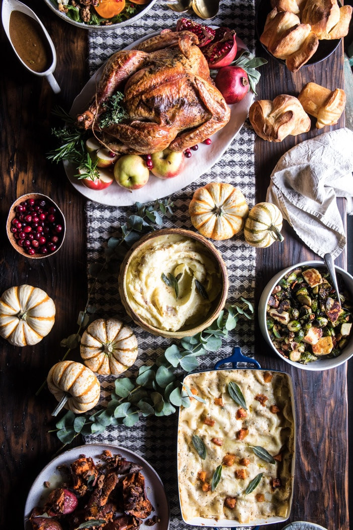 Safeway Thanksgiving Dinner 2017  My 2017 Thanksgiving Menu and Guide Half Baked Harvest