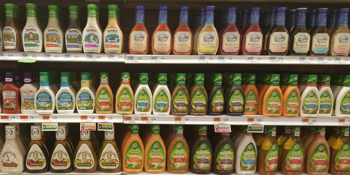Salad Dressings List  RANKED Salad dressings with the fewest calories