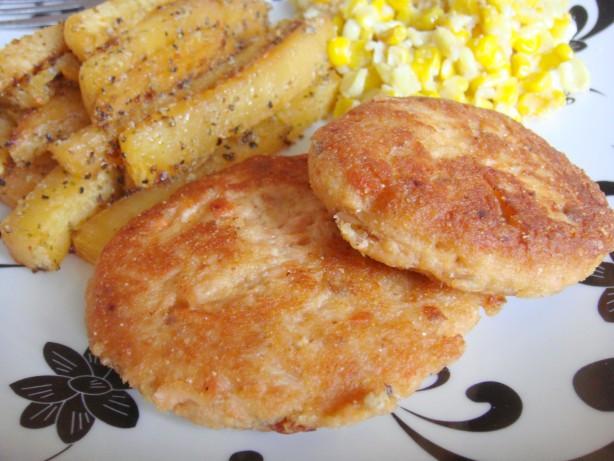 Salmon Patties With Cornmeal  Southern Fried Salmon Patties Recipe Food
