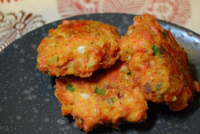 Salmon Patties With Cornmeal  Egg Free Spicy Salmon Cornmeal Cakes