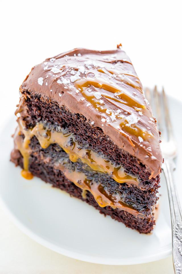 Salted Caramel Chocolate Cake  Salted Caramel Chocolate Cake Baker by Nature