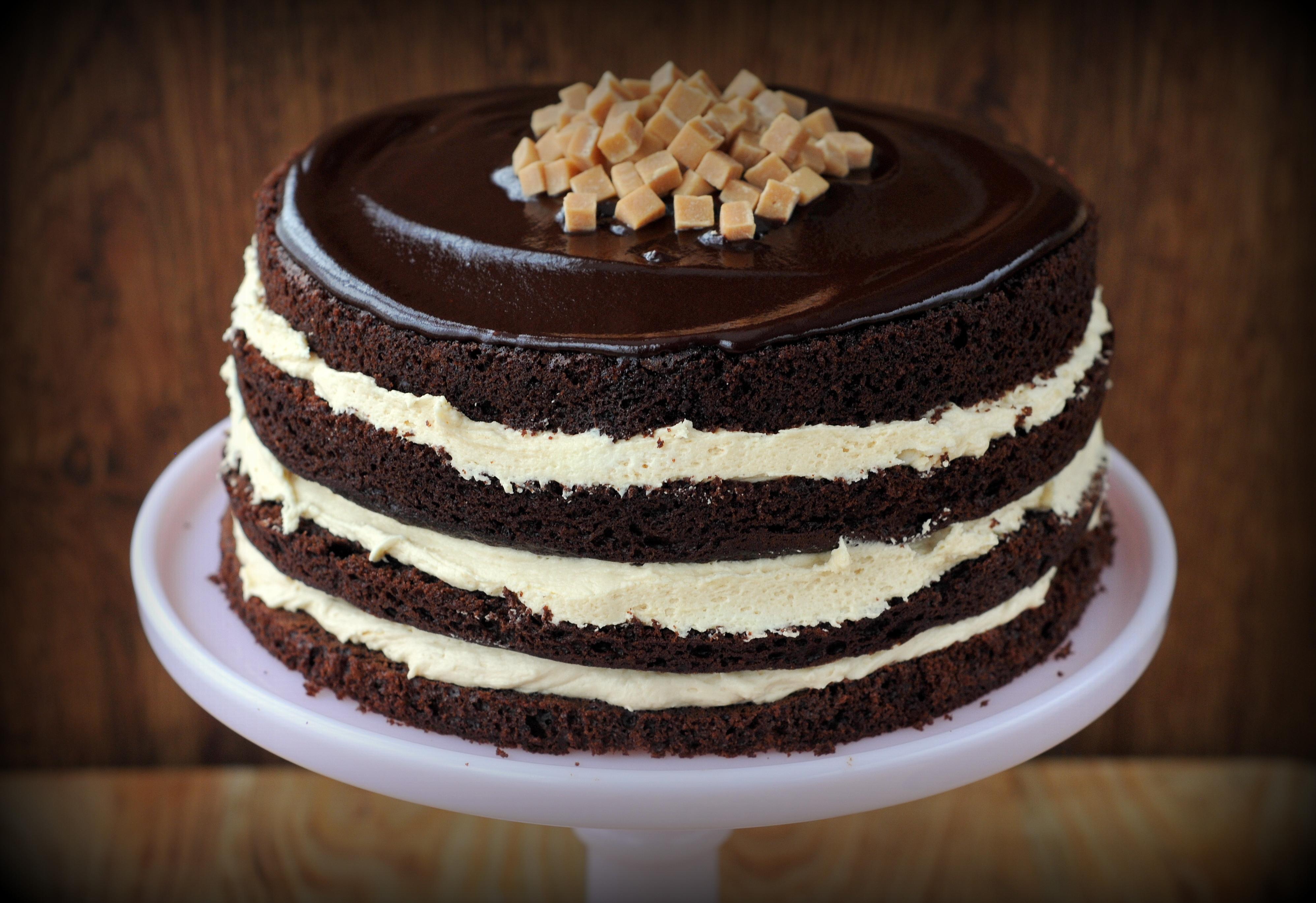 Salted Caramel Chocolate Cake  Salted Caramel Chocolate Fudge Cake Ren Behan