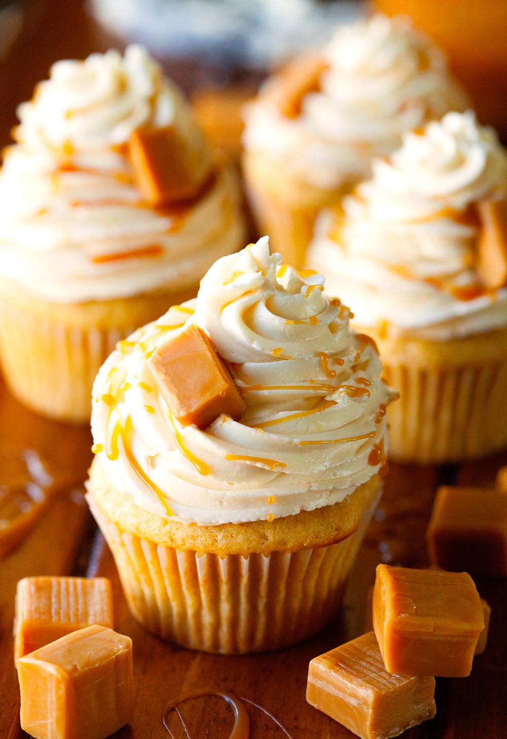 Salted Caramel Cupcakes  The Best Salted Caramel Cupcakes