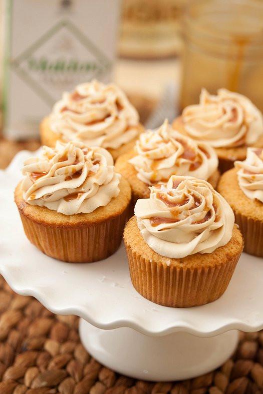 Salted Caramel Cupcakes  Salted Caramel Cupcakes Tide & Thyme