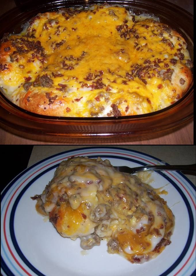 Sausage Gravy Breakfast Casserole  17 Best images about Breakfast on Pinterest