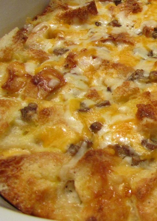 Sausage Gravy Breakfast Casserole  Pinterest • The world's catalog of ideas