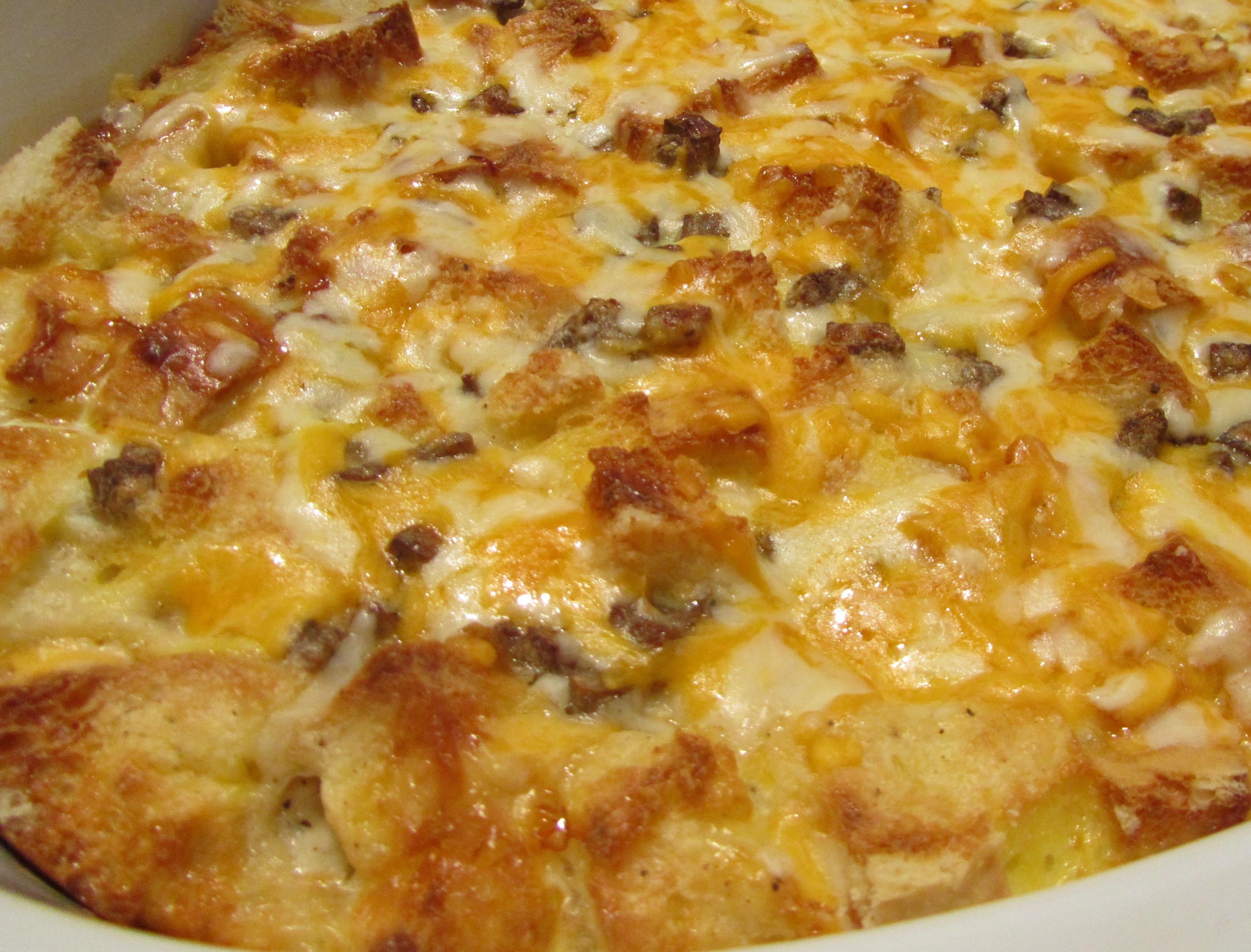 Sausage Gravy Breakfast Casserole  Breakfast Casserole
