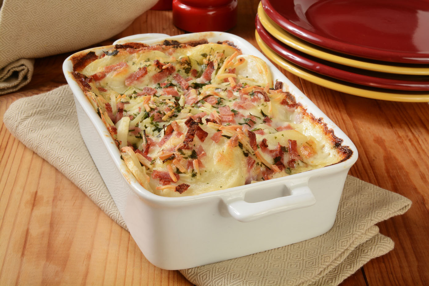 Scalloped Potatoes And Ham With Cream Of Mushroom Soup  Scalloped Potatoes with Ham – Kentucky Legend