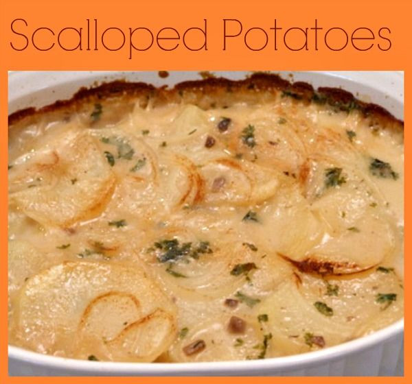 Scalloped Potatoes With Mushrooms Soup  15 best images about Tater Tots on Pinterest