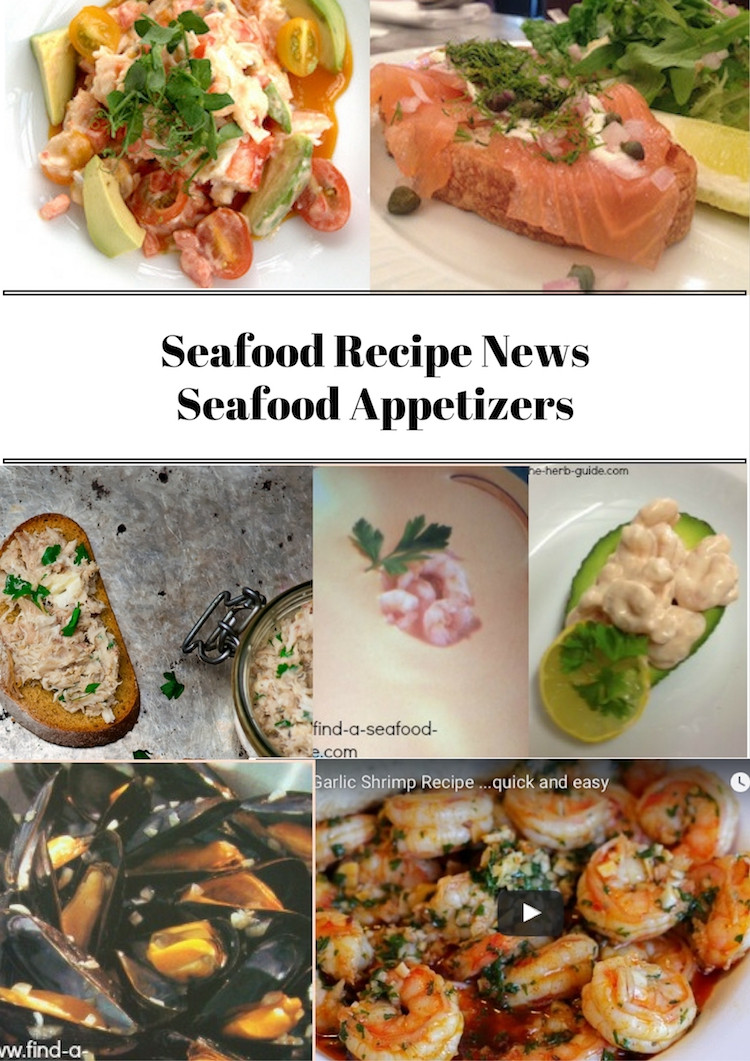 Seafood Appetizer Recipes  Seafood Appetizers