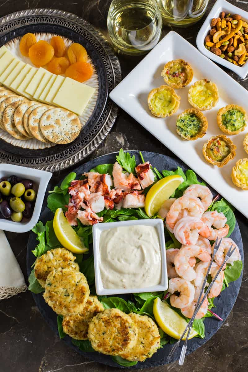Seafood Appetizer Recipes  Seafood Appetizer Platter with Homemade Mustard Sauce
