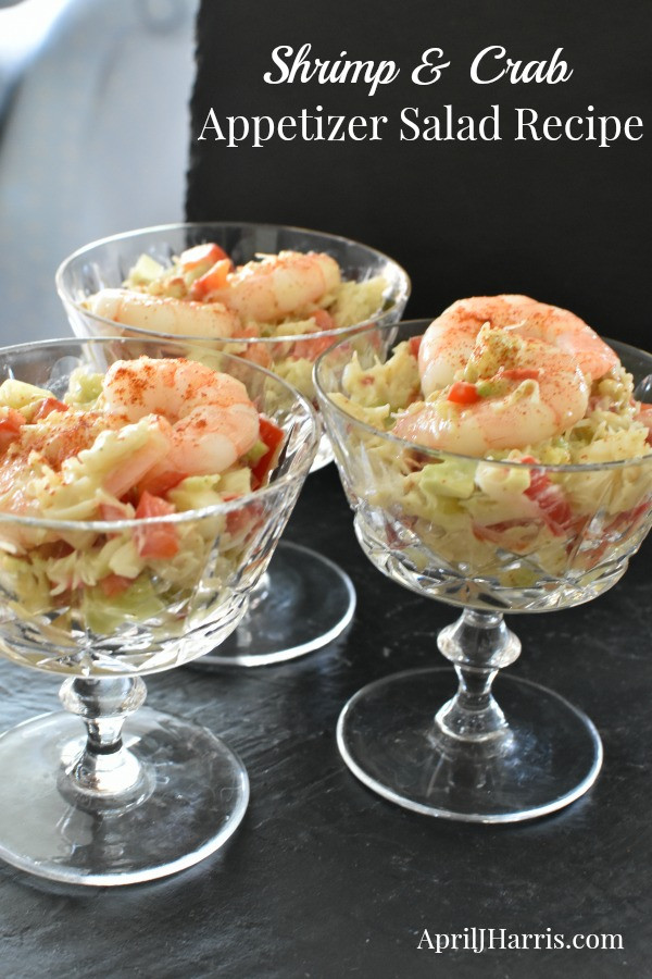 Seafood Appetizer Recipes  Shrimp and Crab Appetizer Salad Recipe April J Harris