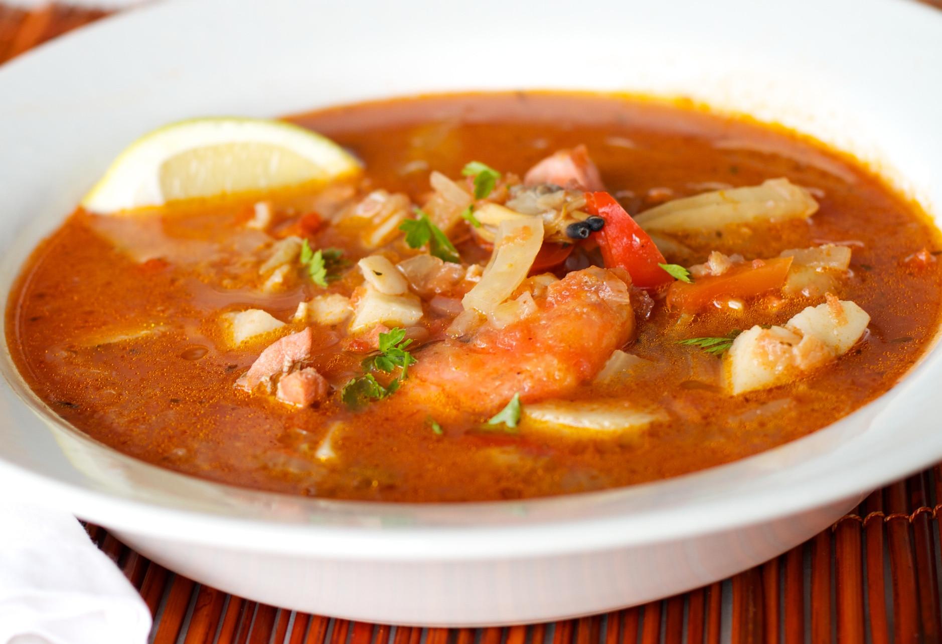 Seafood Chowder Recipes  Mediterranean Seafood Chowder for Birthday Dinner