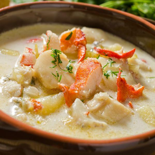 Seafood Chowder Recipes  100 Seafood Chowder Recipes on Pinterest