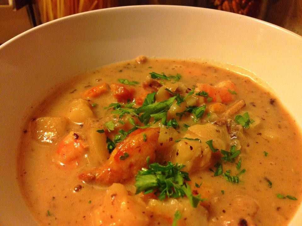 Seafood Chowder Recipes  fish chowder soup recipe
