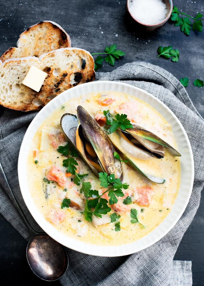 Seafood Chowder Recipes  Cardrona Seafood Chowder