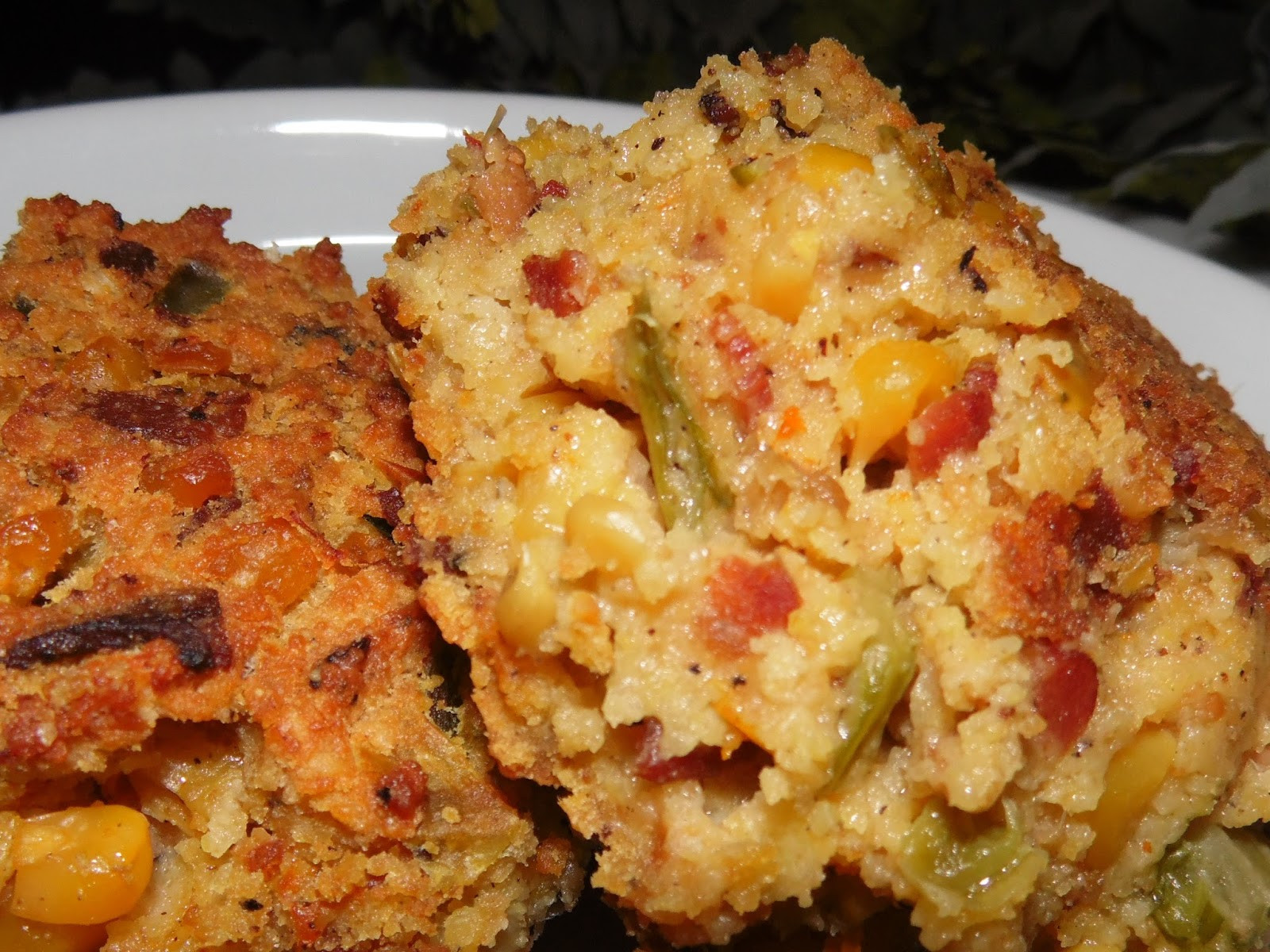 Seafood Cornbread Dressing  Oh La LaY all French Style and Southern Charm