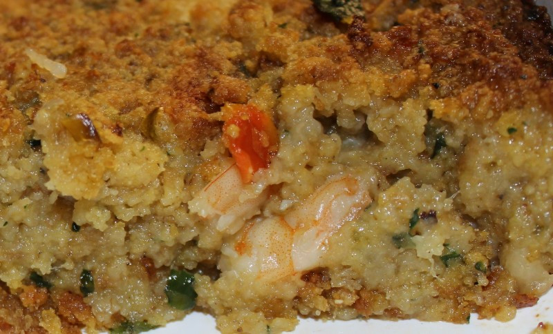 Seafood Cornbread Dressing  Fish Recipe Types