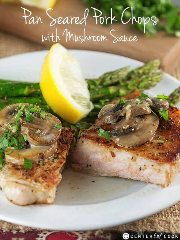 Seared Pork Chops  Pan Seared Pork Chops Recipe — Dishmaps