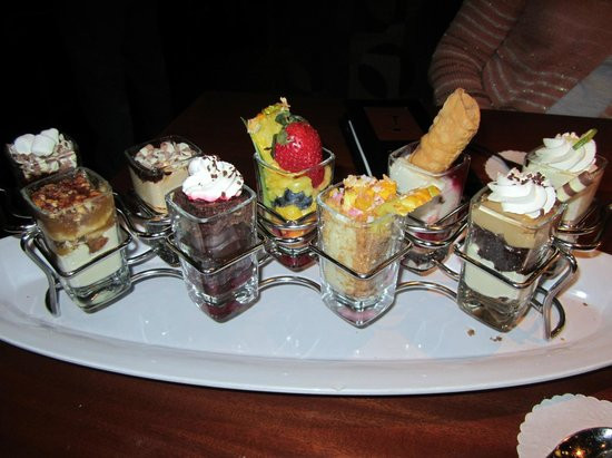 Seasons 52 Desserts  Dessert shooters Picture of Seasons 52 Plano TripAdvisor