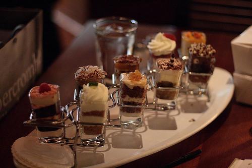Seasons 52 Desserts  Seasons 52 dessert tray