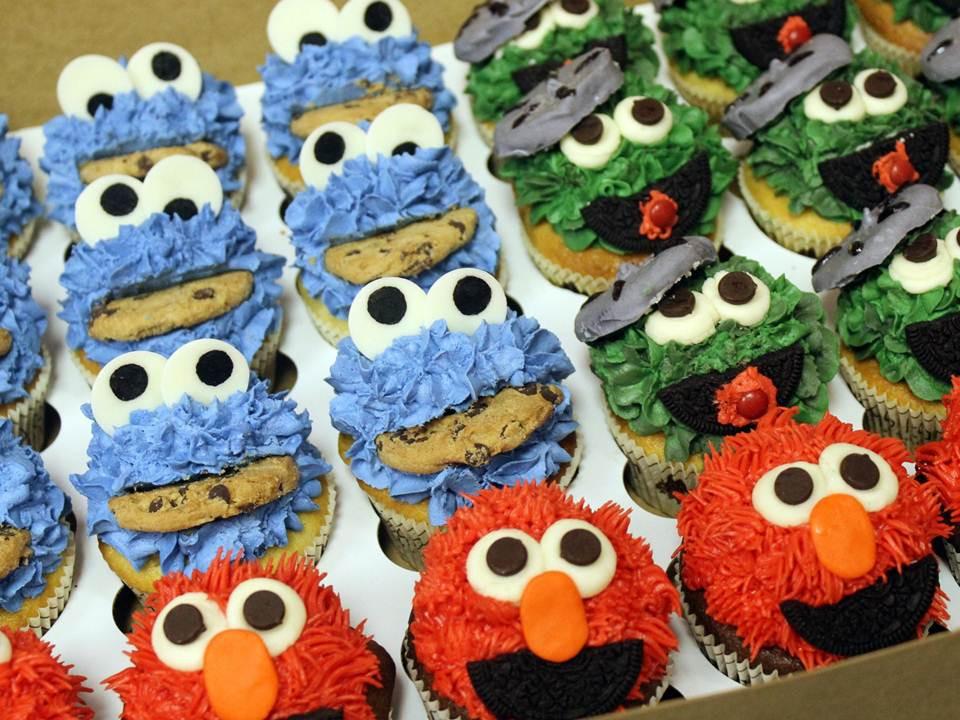 Sesame Street Cupcakes  Sesame Street