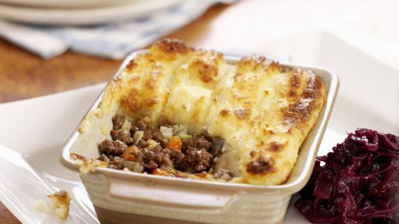 Shepherd'S Pie Recipes  Shepherd s Pie mit Rotkohl Rezept