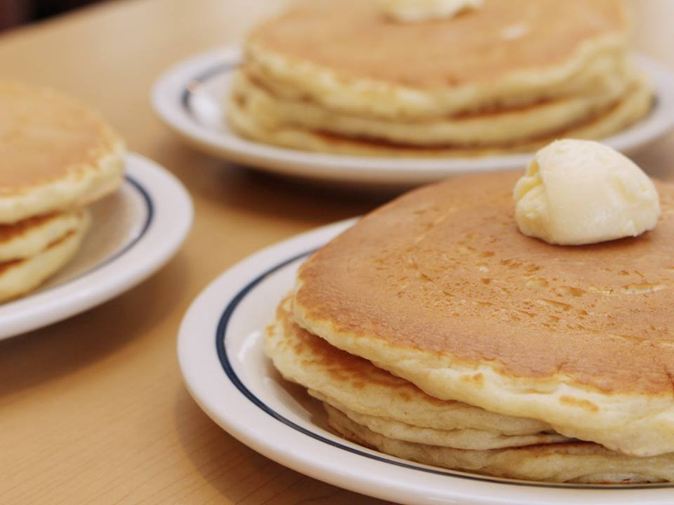 Short Stack Pancakes  IHOP offers $1 short stack pancakes for No Kids Hungry